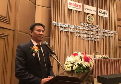 """TS. Trịnh Thanh Bình lấy mô hình """"Đại học Ứng Dụng – NTU"""" thảo luận trong Hội thảo Quốc tế tại Bangkok, Thái Lan"""