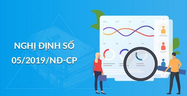 nghị định số 05/2019/NĐ-CP